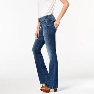 7FAM | Bootcut Mid Rise Medium Blue Jeans